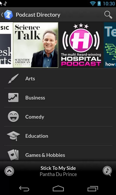 DoubleTwist Free Music App