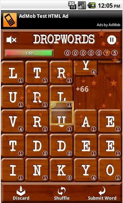 Dropwords Games