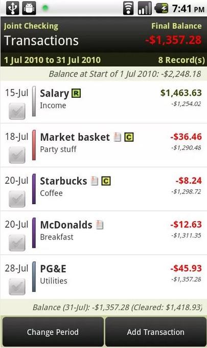 EasyMoney Expense Manager