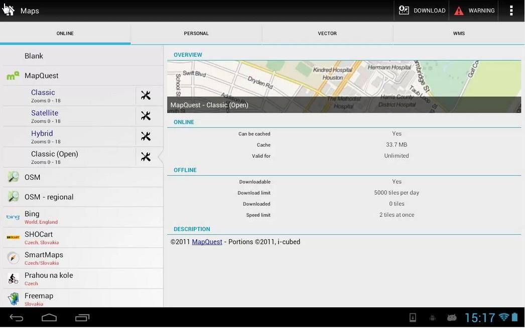 GPS outdoor Navigation App