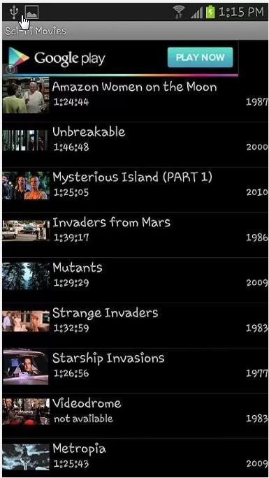 Movie Tube App