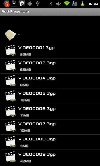 RockPlayer video editor for Android