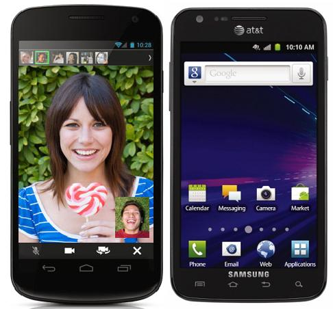 Samsung Galaxy S2 LTE vs Nexus Prime